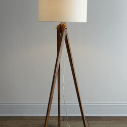 Tripod Floor Lamp - A bit retro, a bit contemporary, this floor lamp puts light where you need it without overwhelming your decor.