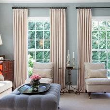 Traditional Living Room by Jenkins Baer Associates