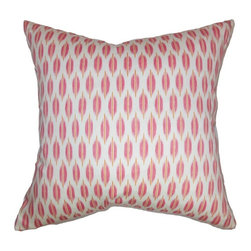 Pillow Collection - The Pillow Collection Ebb Web Pillow - Bubblegum Multicolor - P18-D-42246-BUBBLE - Shop for Pillows from Hayneedle.com! The sugary sweet design of The Pillow Collection Ebb Web Pillow - Bubblegum is a snappy addition to any room. Made of 100% soft cotton this charming square pillow features a plush 95/5 feather/down insert for an ultra-soft feel. The clean white background contrasts beautifully with the cheery pink and orange geometric for a chic look no matter your style.About The Pillow CollectionIdentical twin brothers Adam and Kyle started The Pillow Collection with a simple objective. They wanted to create an extensive selection of beautiful and affordable throw pillows. Their father is a renowned interior designer and they developed a deep appreciation of style from him. They hand select all fabrics to find the perfect cottons linens damasks and silks in a variety of colors patterns and designs. Standard features include hidden full-length zippers and luxurious high polyester fiber or down blended inserts. At The Pillow Collection they know that a throw pillow makes a room.