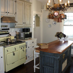 traditional kitchen Kitchen transformation to French Country