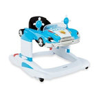 Combi - Combi All-in-One Police Car Mobile Entertainer in Blue - This All-In-One Mobile Entertainer has a colorful police car theme and provides a playful, stimulating experience for your toddler. Includes a lockable bounce feature with three height positions, anti-skid pads and a steering wheel with lights and sounds.