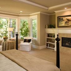 Traditional Bedroom by John F Buchan Homes