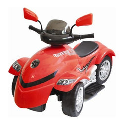 New Star - New Star Cyclone ATV Battery Powered Riding Toy - Red Multicolor - NS-988R - Shop for Tricycles and Riding Toys from Hayneedle.com! About Kidz DelightJust like Santa Claus Kidz Delight is one of the nation's largest toy and gift distributors. Under the Group Sales Inc. umbrella they've been providing quality toys and gifts at fair prices for years. Kidz Delight is a leader in early childhood electronic learning aids and dozens of their toys have won awards. From interactive memory games to smart cards to musical instruments Kidz Delight toys will make your little one smile.