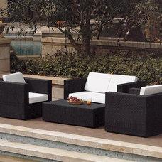 Contemporary Outdoor Sofas by DefySupply.com