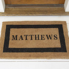Traditional Doormats by Pottery Barn