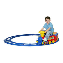 Kid Motorz - Kid Motorz Talking Train Battery Powered Riding Toy Multicolor - 236 - Shop for Tricycles and Riding Toys from Hayneedle.com! About National ProductsA leading toy manufacturer and exporter in Hong Kong National Products is part of a group of four firms called the Playmind Ltd. Group. As recognized by peers the company is both a reputable and reliable working partner as well as supplier in the toy and ride-on industry. Most importantly not just children have fun with National Products ride-on products; parents also appreciate the detailed life-like quality and safety of the innovative designs. National meets or exceeds all safety/quality control government guidelines.