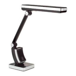 OttLite - Desk Lamps: 13 W HD Slim Line Task Lamp 383G53 - Shop for Lighting & Fans at The Home Depot. Stylish, sleek and so streamlined, the OttLite Slimline Lamp is a great addition to your craft table, home office, study area and more. With its adjustable shade, the Slimline is designed to perfectly deliver OttLite 508 Illumination. The high contrast illumination is great for crafts, studying, computing, reading and any task where seeing clearly is important because it delivers a low heat, low glare illumination that helps reduce eyestrain.