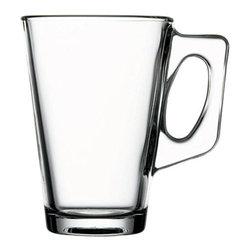 Hospitality Glass - Vela Glass Mugs, Set of 12 - 8.25 oz Vela Mug