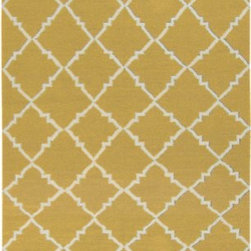 Surya Rugs - Frontier Gold Rug Size: 5' x 8' - 100% Wool. Rugs Size: 5' x 8'. Note: Image may vary from actual size mentioned.