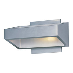 ET2 - ET2 E41302-SA Alumilux 18-Light Led Wall Mount - ET2 E41302-SA Alumilux 18-Light Led Wall Mount