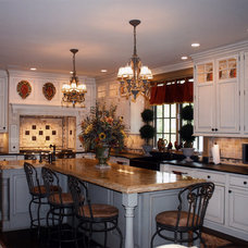 Traditional Kitchen by Laura Sperandio Designs