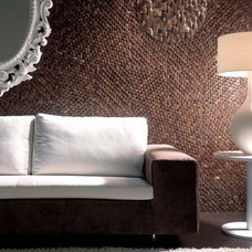 Tropical Headboards Coco Tisu - Dune - natural coconut shell tile