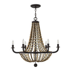 Fredrick Ramond Hamlet 6-Light Chandelier