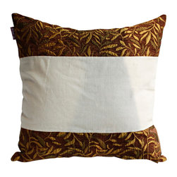 Blancho Bedding - Autumn Trip Linen Stylish Patch Work Pillow Floor Cushion 19.7 by 19.7 inches - Aesthetics and Functionality Combined. Hug and wrap your arms around this stylish decorative pillow measuring 19.7 by 19.7 inches, offering a sense of warmth and comfort to home buddies and outdoors people alike. Find a friend in its team of skilled and creative designers as they seek to use materials only of the highest quality. This art pillow by Onitiva features contemporary design, modern elegance and fine construction. The pillow is made to have invisible zippers, linen shells and fill-down alternative. The rich look and feel, extraordinary textures and vivid colors of this comfy pillow transforms an ordinary, dull room into an exciting and luxurious place for rest and recreation. Suitable for your living room, bedroom, office and patio. It will surely add a touch of life, variety and magic to any rooms in your home. The pillow has a hidden side zipper to remove the center fill for easy washing of the cover if needed.