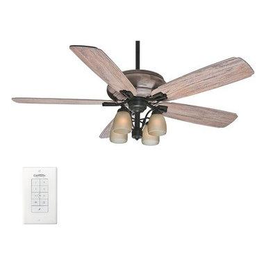 "Casablanca - Casablanca 55052 Heathridge 60"" 5 Blade Ceiling Fan - Light Kit, Blades, & Wal - Included Components:"