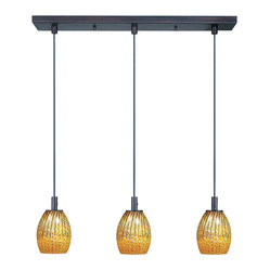 Carte 3-Light Linear Pendant