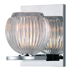 Hudson Valley Lighting - Hudson Valley Lighting 3161 Odem 1 Light Xenon Bathroom Sconce - Product Features: