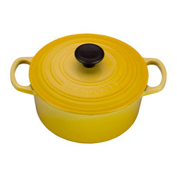 Le Creuset 2 Qt Round French Oven - The smaller capacity of the 2 qt. round French oven – also known as a Dutch oven – is convenient for smaller kitchens, and for preparing one-pot meals for two. For larger families or gatherings, rely on the 2 qt. oven for side dishes of rice or baked beans.