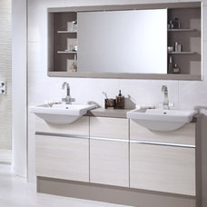Contemporary Bathroom Storage by Utopia Bathroom Group