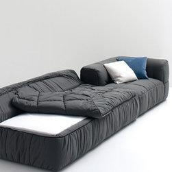 Modern sofa beds - SB 06 - Made in Italy - Modern sofa beds, sectional sofa beds, sofa beds storage, wall beds, Italian furniture, modern furniture, designer furniture, transformable furniture and space saving furniture.