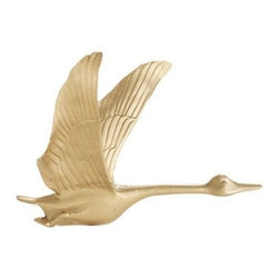 """Whitehall Products LLC - 30"""" Full-Bodied Goose Weathervane - Copper - Features:"""
