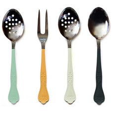 Contemporary Serving Utensils by Ladies & Gentlemen Studio
