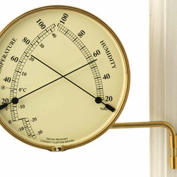 ConantCustomBrass - Outdoor Comfort Meter - Temperature & Humidity meter
