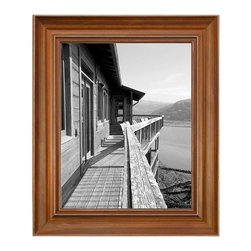 Home Decorators Collection - Collins Picture Frame - The Collins Picture Frame can be displayed vertically or horizontally. Hang it on the wall or set the easel frame on an end table or office desk. This classic photo frame, made of New Zealand pine wood, makes a lovely gift for a birthday or holiday and comes in a gift box. Small holds one 4x6 photo; medium holds one 5x7 photo; large holds one 8x10 photo. Includes D-ring for hanging.