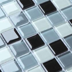 2013 New glass stone metal blend mosaic tile for kitchen backsplash COB0061 - Collection: Crystal Glass tile