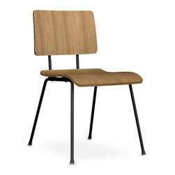 Gus Modern School Chair | Smart Furniture - This vintage inspired chair reminds one of those nostalgic school days. The chair has been modified and molded for a more comfortable seat.