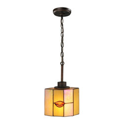 Dale Tiffany - New Dale Tiffany Mini Ceiling Fixture Bronze - Product Details