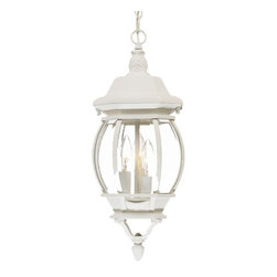 Acclaim Lighting - Acclaim Lighting 5160TW Acclaim Lighting Clear Beveled Glass Chateau 3 Light 19. - This gorgeous outdoor pendant from the Chateau Collection will be an elegant addition to the exterior of your home.