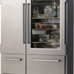 Sub-Zero 648PROG Model - This is on my list for a fantasy kitchen. I love the professional look, styling and variety the four drawers bring — it's everything you need in a fridge.