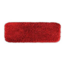 Serendipity 22 x 60 in. Bath Rug - Stepping out of the shower just got a lot more comfy with the Serendipity 22 x 60 in. Bath Rug. This super soft bath rug is available in a variety of gorgeous colors, perfect for any bathroom. The colorfast design and ultra durable construction will keep your bath beautiful for years.About Garland SalesEstablished in 1974, Garland Sales, Inc. has grown as a leading manufacturer and supplier of a wide range of fashionable, tufted area rugs and decorator bath rugs. Operating in the heart of the carpet manufacturing industry in Dalton, GA, Garland Sales, Inc. continues to expand its product line through innovative product development and milestone merchandising techniques. Offered in a wide array of yarns, patterns, colors, weights, and backings, their products are sought after throughout the country. The colorfast designs, quality construction, and lasting beauty of a Garland Sales rug is a look and feel you'll love in your bathroom for years.