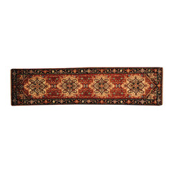 1800 Get A Rug - Heriz Runner Rust Red 100% Wool Hand Knotted Oriental Rug Sh16248 - Our Tribal & Geometric hand knotted rug collection, consists of classic rugs woven with geometric patterns based on traditional tribal motifs. You will find Kazak rugs and flat-woven Kilims with centuries-old classic Turkish, Persian, Caucasian and Armenian patterns. The collection also includes the antique, finely-woven Serapi Heriz, the Mamluk Afghan, and the traditional village Persian rug.