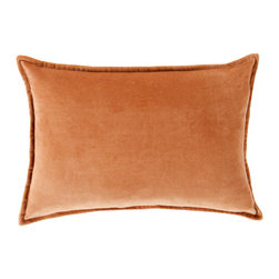 """Surya - Surya CV-002 Smooth Velvet Pillow, 22"""" x 22"""", Down Feather Filler - While simplistic in design, the effortless effect these dazzling pillows will have in your space will be anything but that! With a classic, solid design that shines in its smooth construction, this piece will create a transitional, yet flawless look from room to room in any home decor. Genuinely faultless in aspects of construction and style, this piece embodies impeccable artistry while maintaining principles of affordability and durable design, making it the ideal accent for your decor."""
