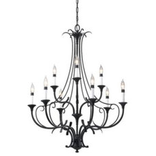 chandeliers Peyton 2-Tier Chandelier by Murray Feiss