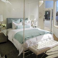 Oly Studio Diego Bed Antique White