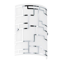 EGLO - Eglo 92564 Chrome 1X60W Wall Sconce - EGLO 92564 Chrome 1X60W Wall Sconce