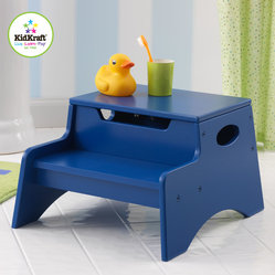 Kid Kraft Blue Colored Step