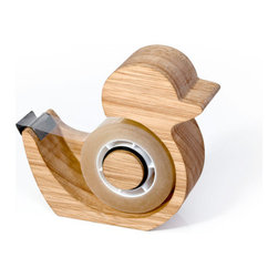 Quack Tape Dispenser - Get this cute duck-shaped tape dispenser. It's cute enough to keep on top of your desk and not tucked away in a drawer somewhere.