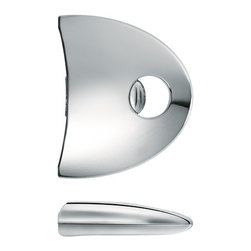 Cristel - Cristel Zenith Side Handle - 1 Unit - Attach to any Cristel removable handle collection (01).   Firm stainless steel and hard surface. Made in France.