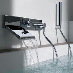 modern bathroom faucets by Plumbed Elegance