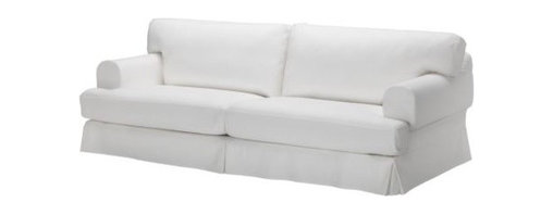 IKEA of Sweden - Hovås Sofa, Gobo White - I love this simple yet comfy sofa from Ikea. It's both stylish and very affordable.