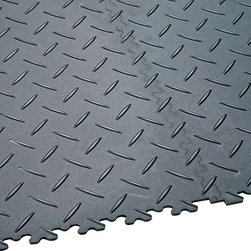 Tilesbay.com - Sample of 20X20 4.5mm Light Grey Dovetail Diamond 100% PVC - DOVETAIL DIAMOND 20 X 20 - Light Grey - (Recommended for Residential Use Only) is the industry's leading product line for interlocking floor tiles. Not hollow and noisy like standard garage floor tiles