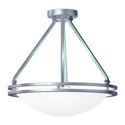 Access Lighting - Access Lighting 20460GU Aztec 3 Light Semi-Flush Ceiling Fixture - Product Features: