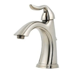 Price Pfister - Lead Law Compliant 1.5 GPM 1 Handle Center Set Lavatory Faucet santia - Features all metal pop-up drain assembly