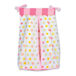 Trend Lab - Trend Lab Dr. Seuss Pink Oh! The Places You'll Go! - Diaper Stacker - 30353 - Shop for Diaper Stackers from Hayneedle.com! The Trend Lab Dr. Seuss Pink Oh! The Places You'll Go! - Diaper Stacker is an adorable way to tidy up Dr. Seuss style! This diaper stacker holds up to three-dozen diapers and has a corrugated plastic insert to keep them stacked neatly. With its bubblegum pink hot pink lilac apricot and soft yellow polka dot pattern this stacker is a perfect match to the Pink Oh! the Places You'll Go! Collection. In fact it is an authentic Dr. Seuss product and is sold under license from Dr. Seuss Enterprises L.P. Two ties at the top make it easy to attach the Diaper Stacker to most dressers and changing tables - a great way to keep diapers organized and handy.About Trend LabBegun in 2001 in Minnesota Trend Lab is a privately held company proudly owned by women. Rapid growth in the past five years has put Trend Lab products on the shelves of major retailers and the company continues to develop thoroughly tested high-quality baby and children's bedding decor and other items. With mature professionals at the helm of this business Trend Lab continues to inspire and provide its customers with stylish products for little ones. From bedding to cribs and everything in between Trend Lab is the right choice for your children.