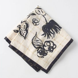Sistere Napkin - This napkin is printed with the bounty of fall, in a design-friendly way.