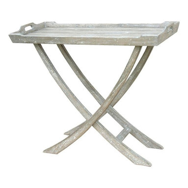 EuroLux Home - New Table Riverwash Painted  Painted - Product Details